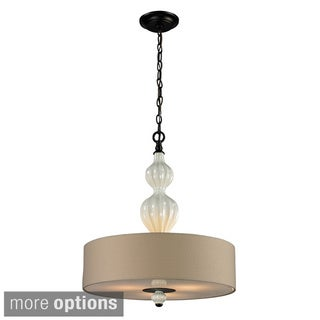 Elk Lighting Home Lilliana 3-Light Aged Bronze Pendant