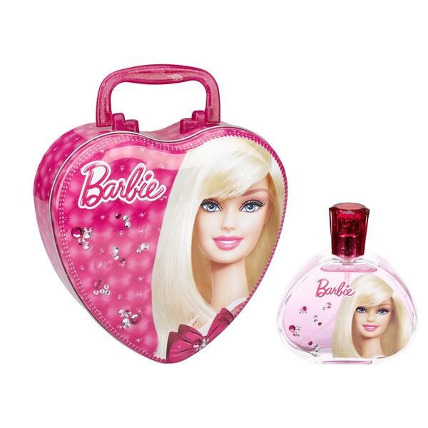 Barbie 3.4-ounce Eau de Toilette Spray with Metal Lunchbox