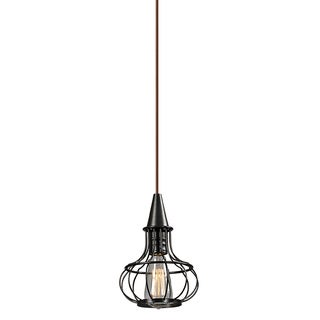 Elk Lighting Yardley Single-light Oil Rubbed Bronze Mini Pendant