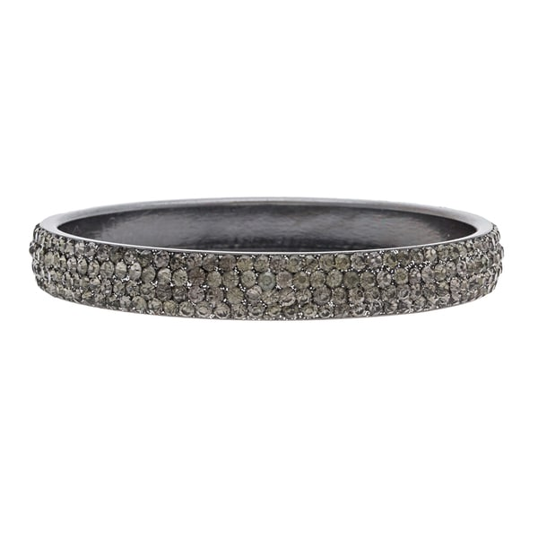 ABS Grey Crystal Pave-set Bracelet