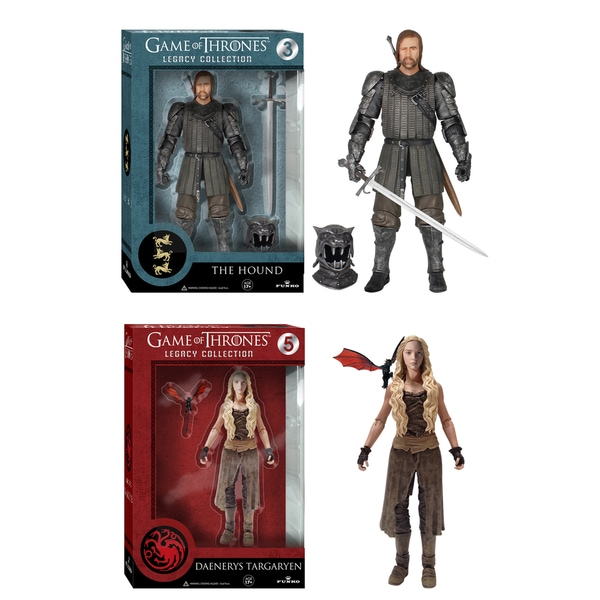 Game of Thrones Legacy Collection: Daenerys and The Hound