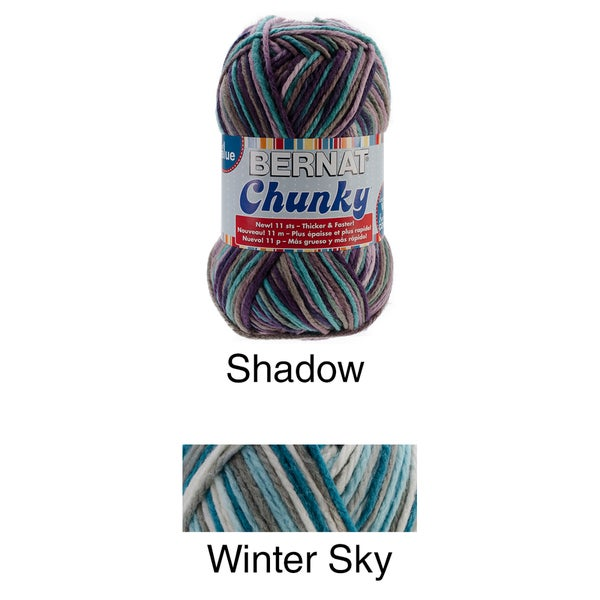 Chunky Big Ball Yarn-Ombres