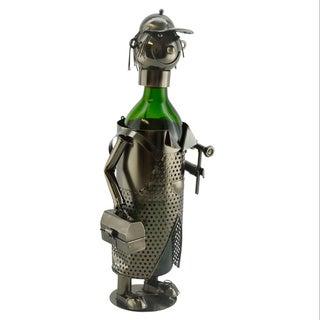 WineBodies Handy Man Metal Wine Bottle Holder