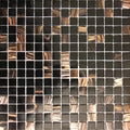 Surfaces USA 12X12 Sapphire Multi-Glass .75-in Mosaic Tile (Pack of 20)