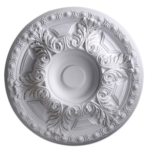 Gaudi Decor 20-Inch Round Antique Ceiling Medallion