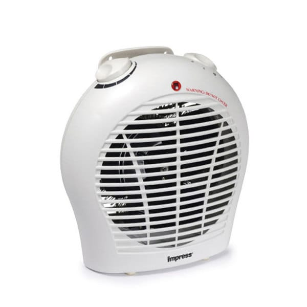 Impress IM-702 1500-watt 2-speed Fan Heater with Adjustable Thermostat