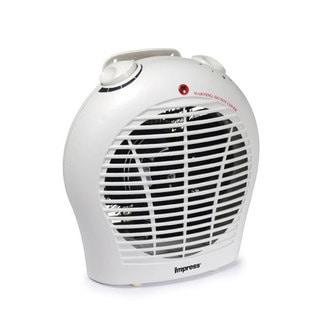 Impress IM-702 1500-watt 2-speed Fan Heater with Adjustable Thermostat (Refurbished)