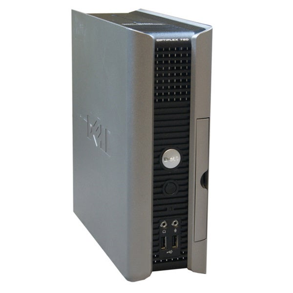 Dell OptiPlex 760 Intel Dual Core 2.5GHz 2GB 250GB DVDRW Microsoft Windows7Professional (64-bit) USFF Computer (Refurbished)