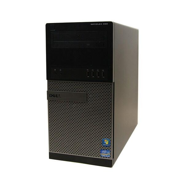 Dell 990 Intel Corei5 3.3GHz 8GB 1TB DVDRW Microsoft Windows7 Professional (64-bit) MT Computer (Refurbished)