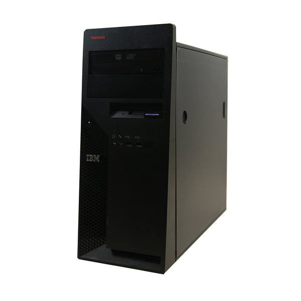 Lenovo ThinkCentre M52 PentiumD 3.2GHz 2GB 80GB DVD Microsoft Windows 7 Home Premium (32-bit) MT Computer (Refurbished)