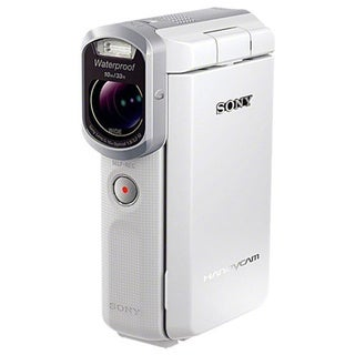 Sony HDR-GW66V HD 20MP White Camcorder