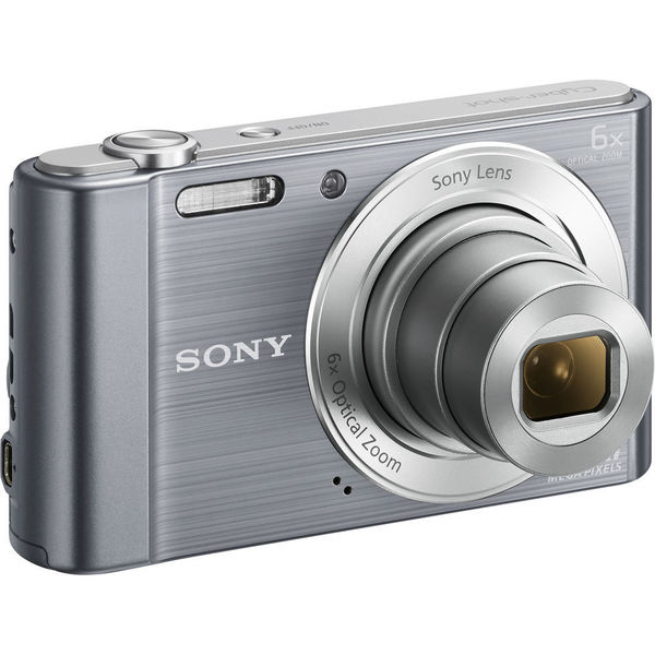 Sony Cyber-shot W810 20MP Silver Digital Camera