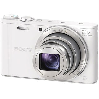 Sony DSC-WX350 18MP White Digital Camera