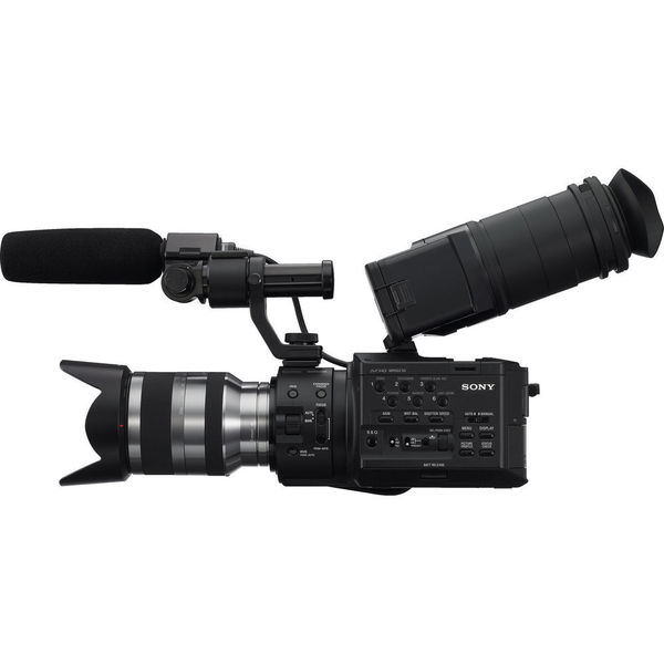 Sony NEX-FS100UK Super 35 Camcorder with 18-200mm Lens