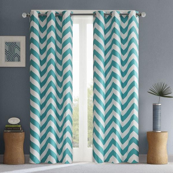 Intelligent Design Pisces Curtain Panel Pair - 16662797 - Overstock ...