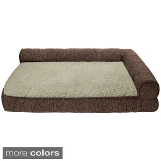 Bonsai Toby Right Angle Bolster Pet Bed