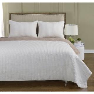 Harley 100-percent Cotton 3-piece Quilt Set