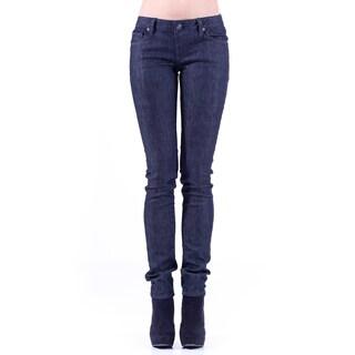 Stitch's Womens Dark Wash Soft Skinny Jeans