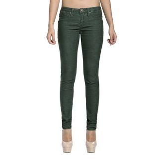 Stitch's Women's Green Skinny Jeans