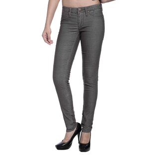 Stitch's Women's Grey Soft Skinny Leggings