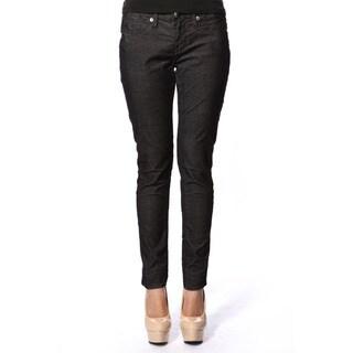 Stitch's Women's Black Denim Skinny Jeans