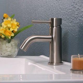 Brushed Nickel Single Hole Faucet