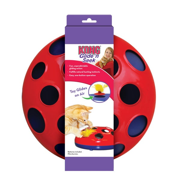 Kong Active Glide 'N Seek Interactive Cat Toy