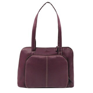 Bugatti Women's 15-inch Purple Laptop Tote Bag
