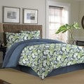 Deals on Tommy Bahama Key Largo Place Indigo 4-piece Comforter Set
