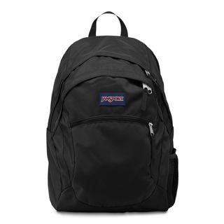 JanSport Wasabi Black School Backpack