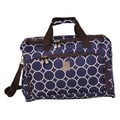 Jenni Chan Aria Park Ave 18-inch Carry On Navy City Duffel