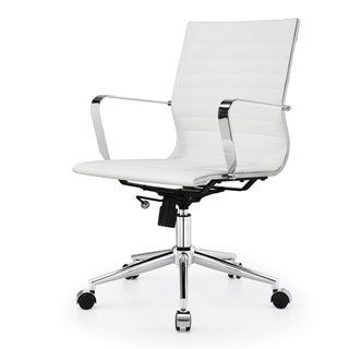 Due Modern White Office Chair