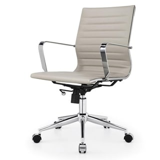 Due Modern Light Grey Office Chair