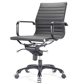 All Black Due Modern Office Chair