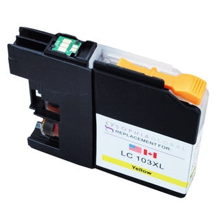 Sophia Global LC103XL Yellow Ink Cartridge Replacement for Brother Printers
