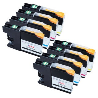Sophia Global LC103XL Black and Color Ink Cartridge Replacements for Brother Printers (2BCMY)