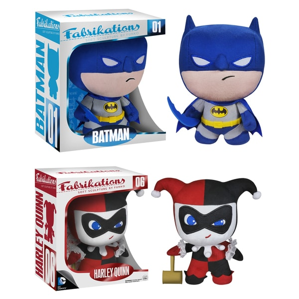 DC Comics Fabrikations 2 Pack: Batman and Harley Quinn