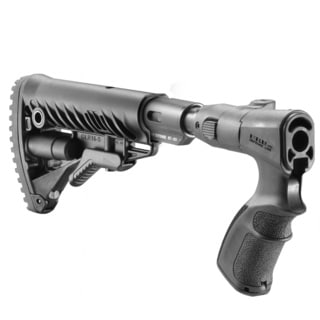 M4 folding collapsible buttstock with shock absorber for Remington 870