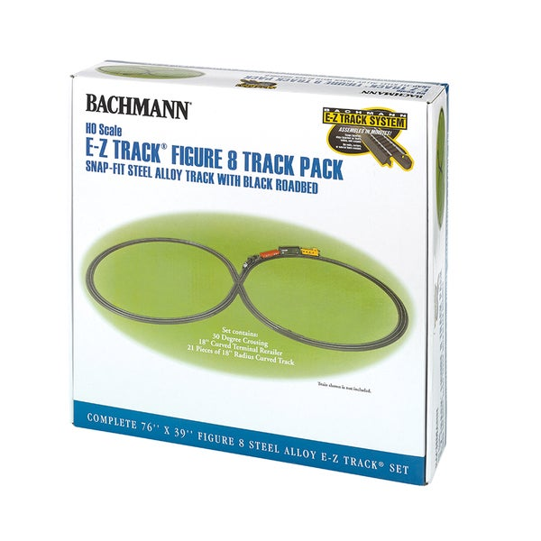 Bachmann Trains E-Z Track Figure 8 Track Pack  HO Scale 14053883