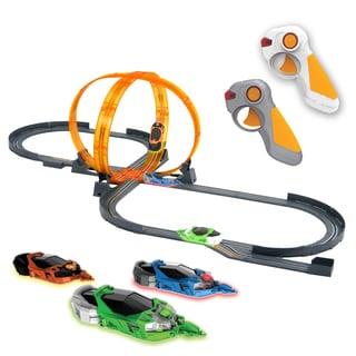 Artin 1:43 Scale Disruptors Wireless Fireloop Frenzy Slot Car Racing Set