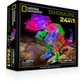 Laser Pegs  National Geographic 24-in-1 Dinosaurs Lighted Construction Toy