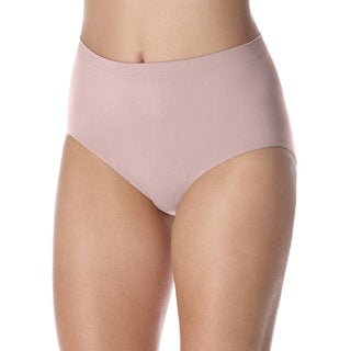 Bali Women's 'Barely There' Comfort Revolution Microfiber Seamless Briefs