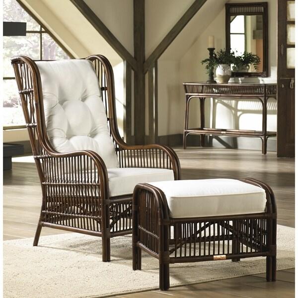 Panama Jack Bora Bora 2-piece Occasional Chair with Ottoman