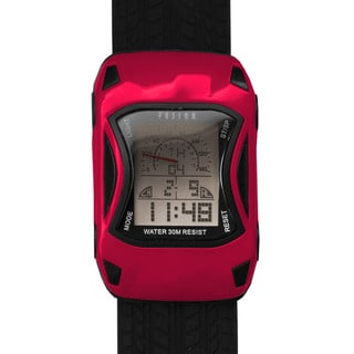 Dakota Fusion Kids Red Digital Racecar Watch