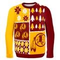 Washington Redskins Busy Block Ugly Sweater