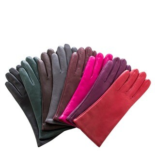 Women's Italian Leather Cashmere-lined Gloves