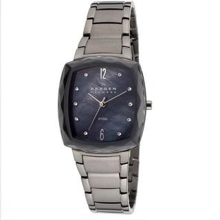 Skagen Women's 657SMMX 'Steel' Stainless Crystal Watch