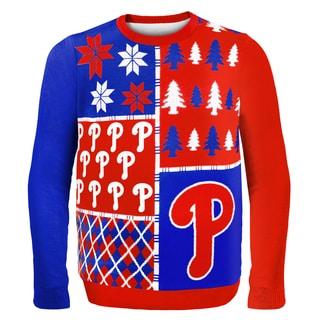Philadelphia Phillies Busy Block Ugly Sweater