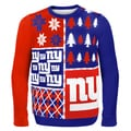 New York Giants Busy Block Ugly Sweater
