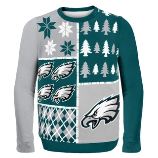 Philadelphia Eagles Busy Block Ugly Sweater